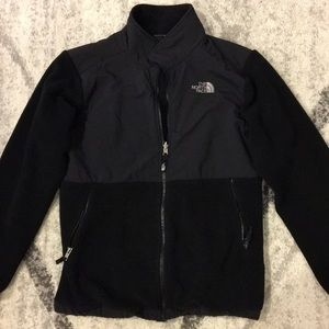 North Face Denali Jacket - Boys XL, black